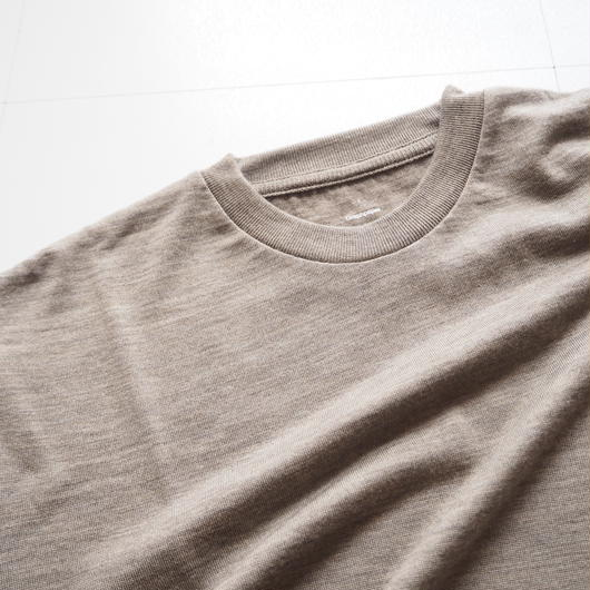 "Graphpaper ""Washable Wool Crew Neck Tee""  Grage unisex"
