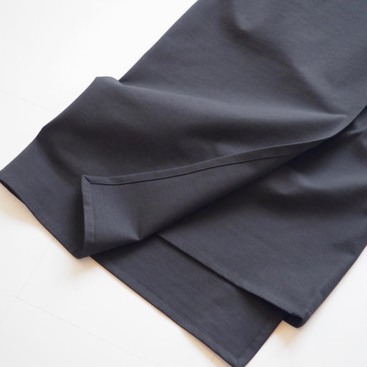 "Graphpaper ""Cotton Nylon Strech Skirt"" Black"