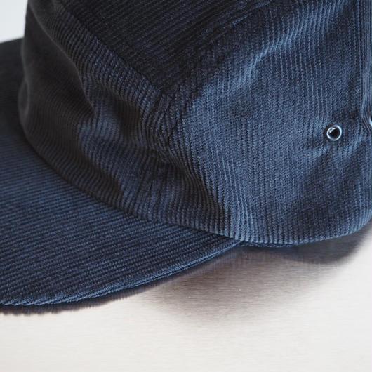 """COMESANDGOES  """"CORDUROY JET CAP"""" Black"""