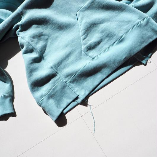 """UNUSED """"US1494 Sweat Hoodie. """" blue green women"""