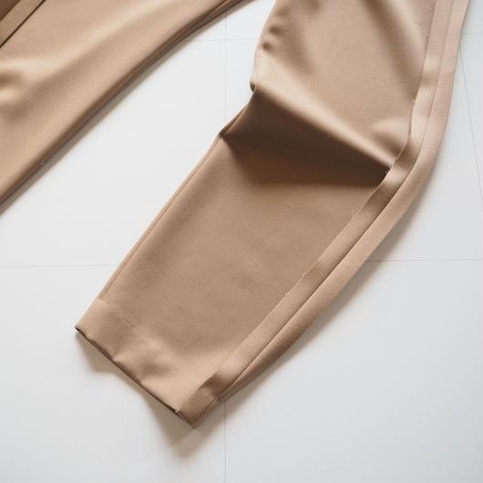 """UNUSED """"UW0689 pants."""" camel unisex"""