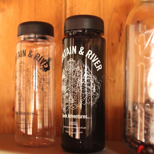 再販!! 〈 River roots research & Lab 〉×〈HALF TRACK PRODUCTS〉シングルウォールボトル 500ml