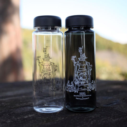 〈 River roots research & Lab 〉×〈HALF TRACK PRODUCTS〉シングルウォールボトル 500ml