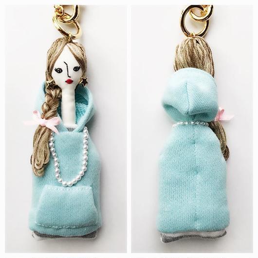 お人形チャーム「綿アメになりたいです」