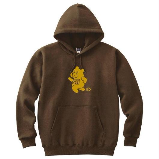 B. 【くまパーカー】brown×yamabuki