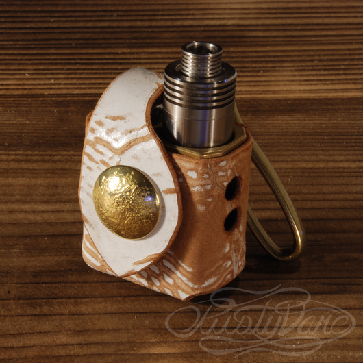Vape「Phantus Mini Brass Monkey」専用レザーケース #004