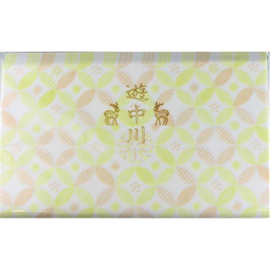 遊中川  小紋懐紙  たんぽぽ七宝