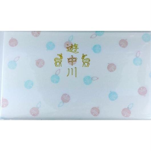 遊中川 小紋懐紙 鈴