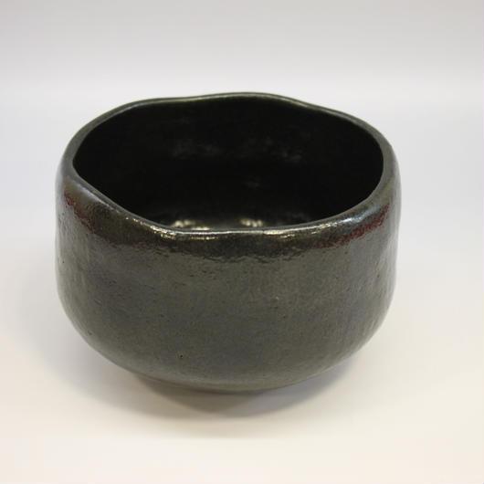 黒楽茶碗 谷古石香作