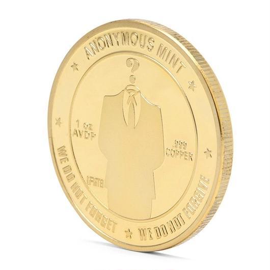 ビットコイン ゴールドコイン アノニマス スーツ