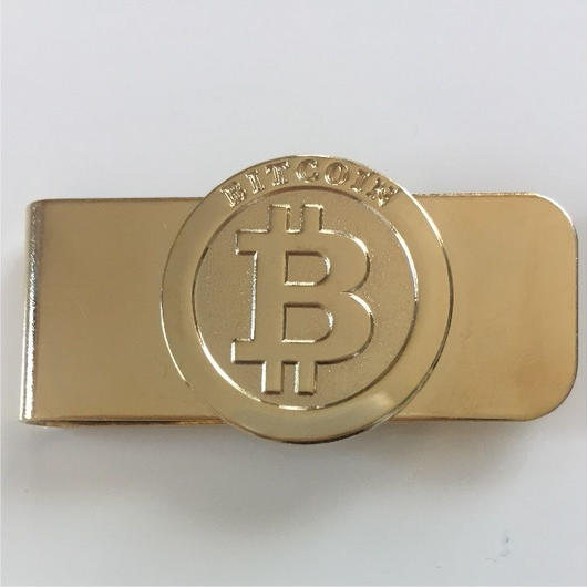 ビットコイン マネークリップ