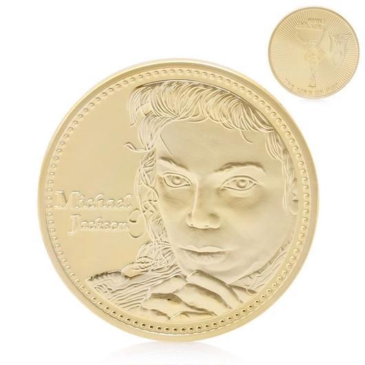 マイケルジャクソン ゴールドコイン