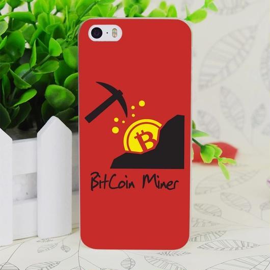 【在庫ラスト1個】ビットコイン iPhone6 6s ケース