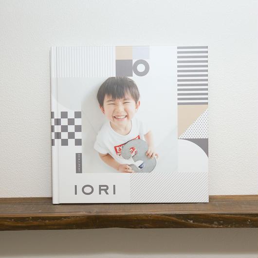 フォトアルバム(幾何学)Lサイズ/8ページ