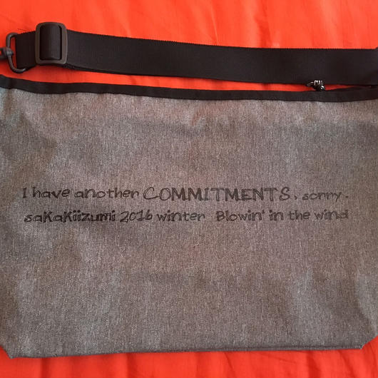 Commitments(先約)メッセンジャーバッグ