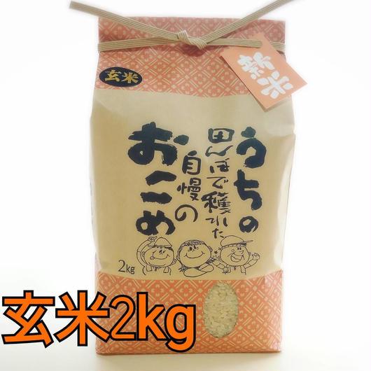 ♯6《お結び米》新米 2キロ 玄米
