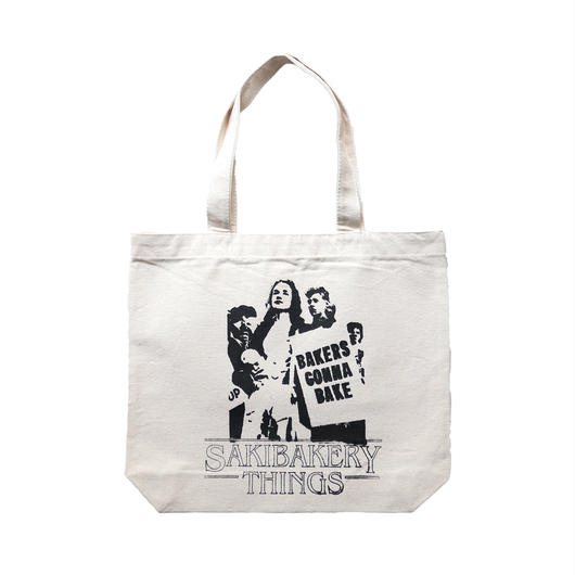 Saki Bakery Original photo&logo Print Tote Bag
