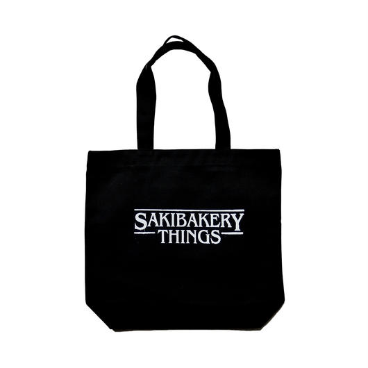 Saki Bakery Logo Print Tote Bag