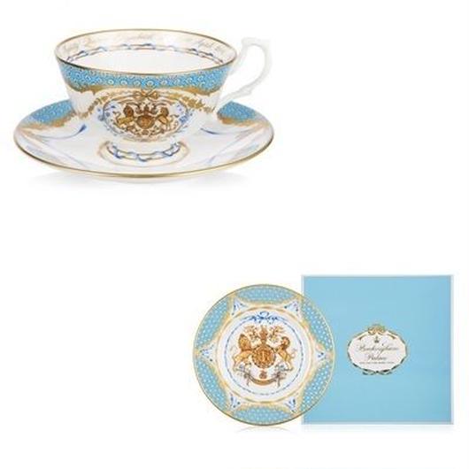 エリザベス女王生誕90年記念ティーカップ&プレートセット