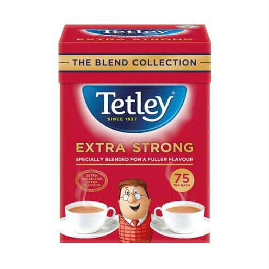 Tetley Extra Strong 75個入り