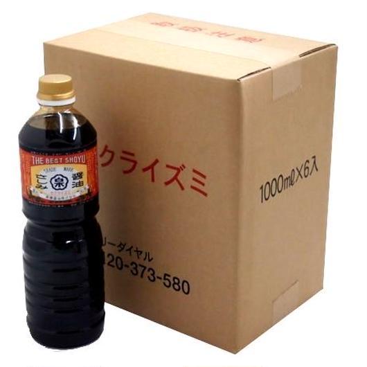 徳用まとめ買い さしみ醤油(1Lペットボトル×6本セット)