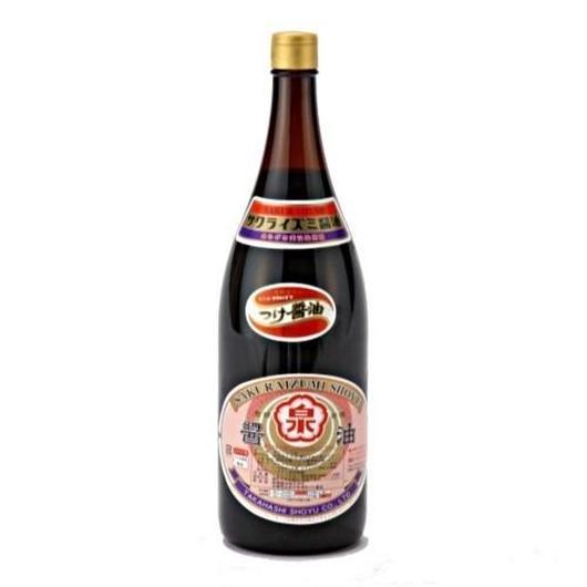 かけ醤油(1.8Lリユース一升瓶タイプ)