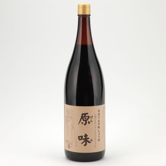原味醤油(1.8Lリユース一升瓶タイプ)
