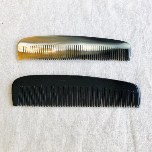 Kostkamm / Horn pocket comb /コストカム /水牛櫛