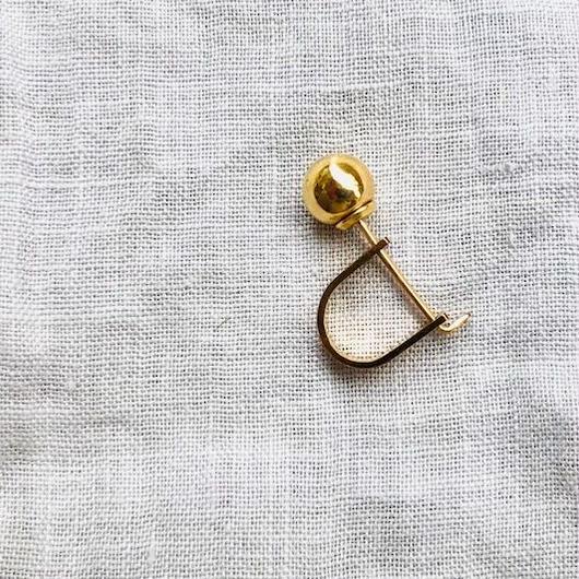 cinq / Miqa ear anchor  / 14 K   gold filed / シンク /片耳ピアス