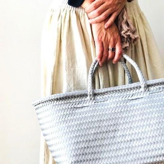 Cilantron / nylon mercado bag / Large size   / Silver    // シラントロン / メルカドバッグ /  シルバー