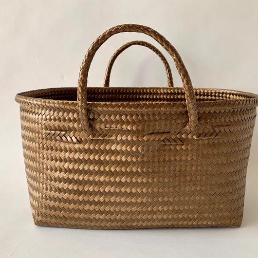 Cilantron / nylon mercado bag  / Large size  / brown シラントロン / メルカドバッグ /  茶色