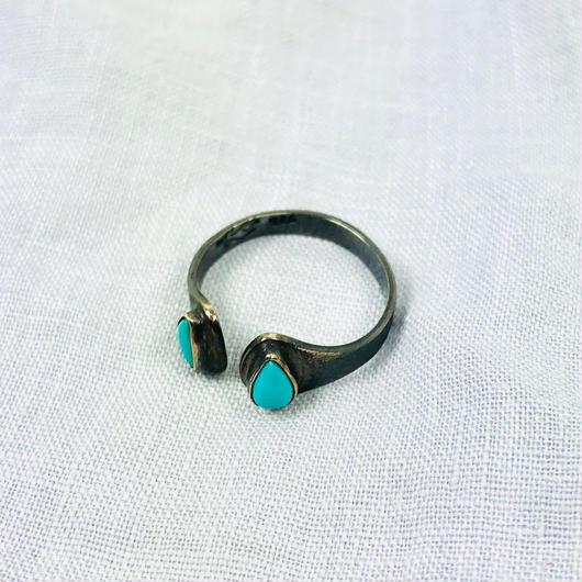 ishi jewelry / turquoise ring / イシジュエリー/ ターコイズリング