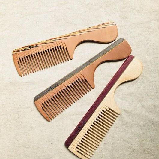 kostkamm /wood   hair comb / 16cm/ コストカム/木製櫛/16cm