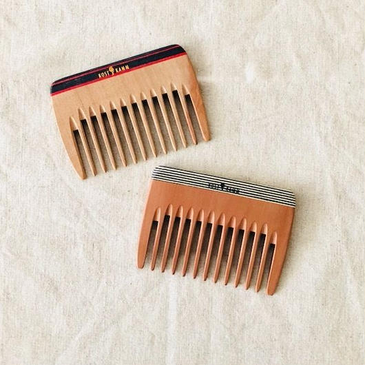 kostkamm /wood   hair comb / 10cm/ コストカム/木製櫛/10cm