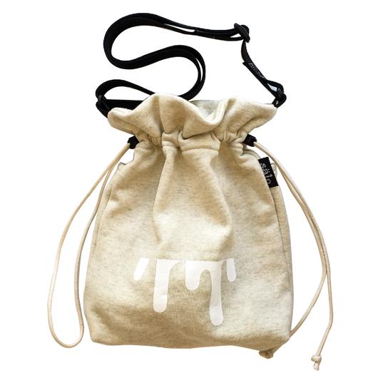 sweat sholder bag  杢beige