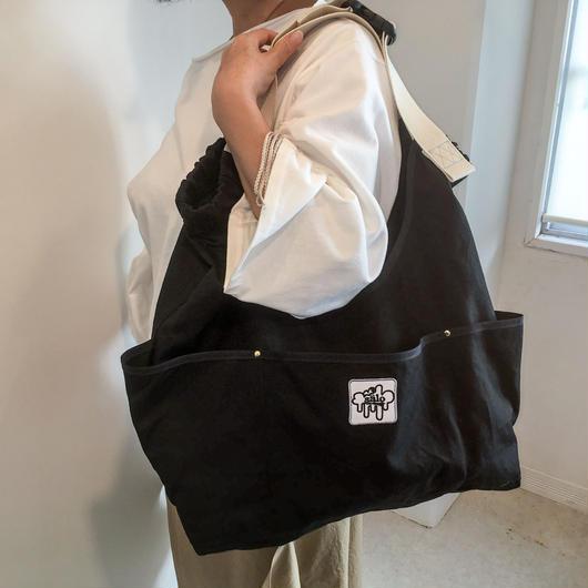 arch strap bag  black
