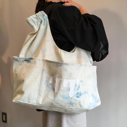 arch strap bleach bag blue