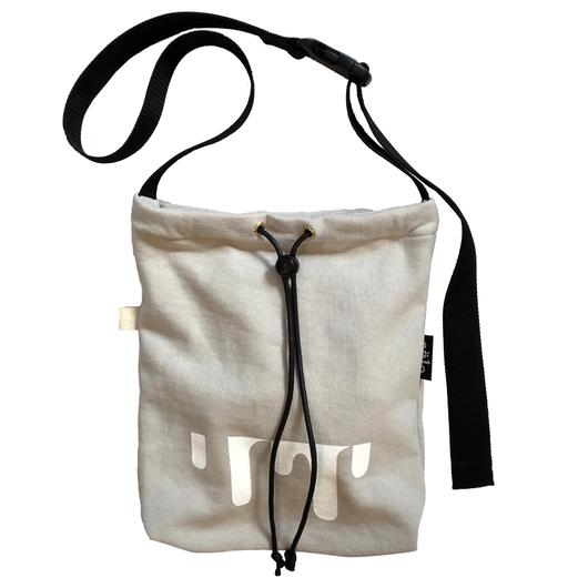 sweat sacoche bag offwhite