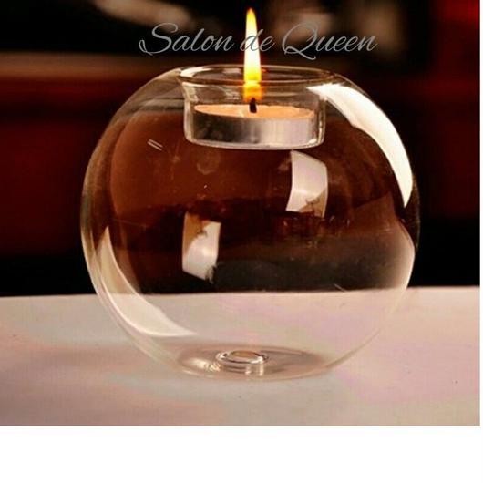 ガラス製 キャンドル