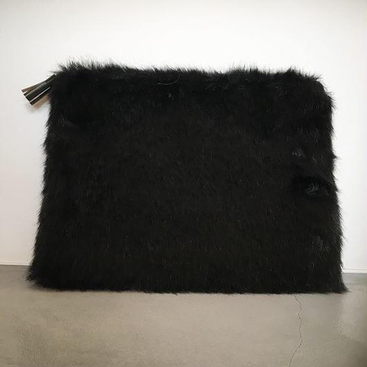 『TEMBEA/FUR FLAT BAG』