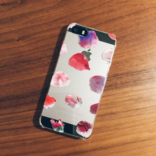iPhone case/dots:pink