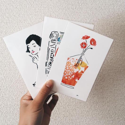 postcard set / my