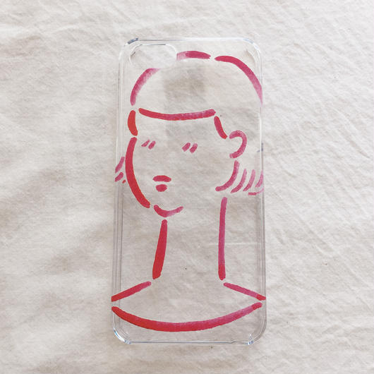 iPhone case / girl