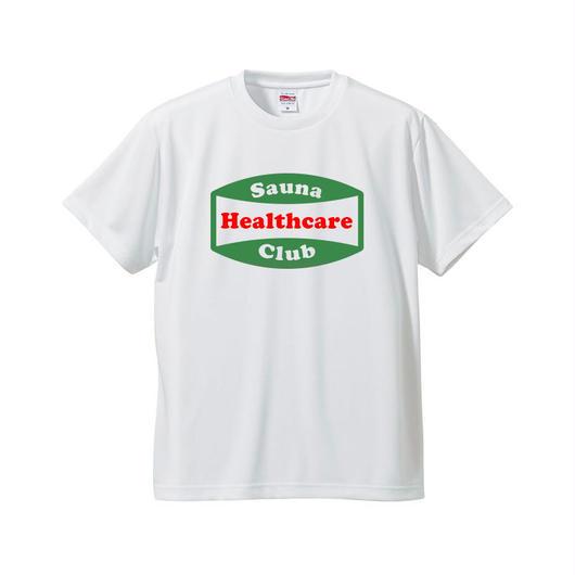 サウナヘルスケアクラブTシャツ(ホワイト)