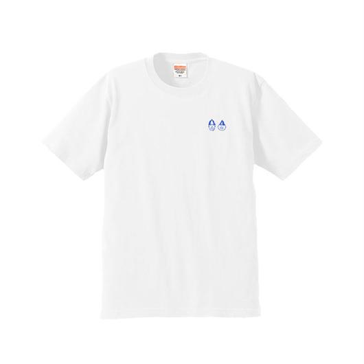でかロゴTシャツ バックプリント(ホワイト)