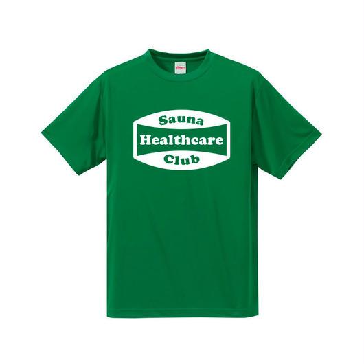 サウナヘルスケアクラブTシャツ(グリーン)