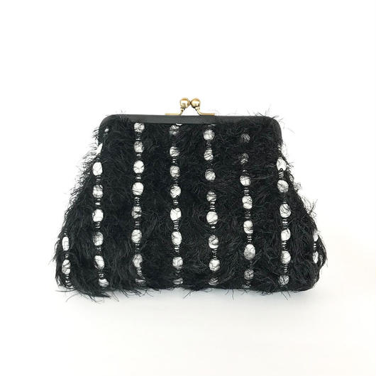 Leather Mini Clutch bag / 1840