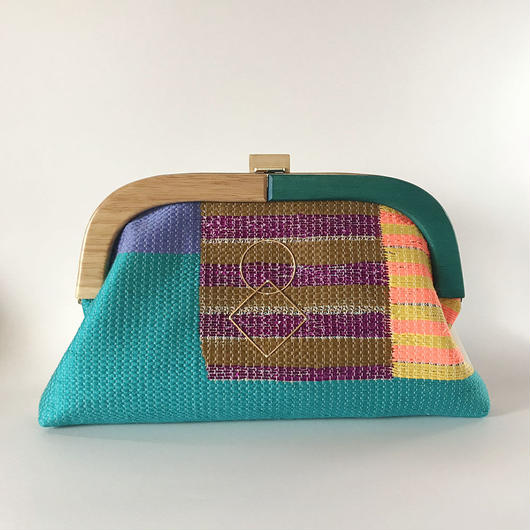 By Color Clutch Bag  / 2000