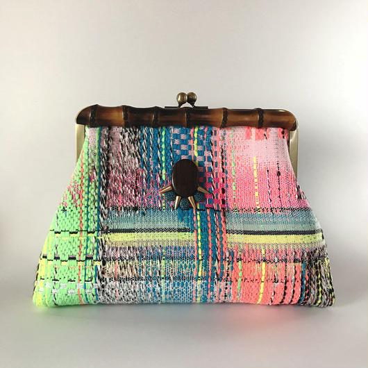 Bamboo Clutch Bag  / 1231