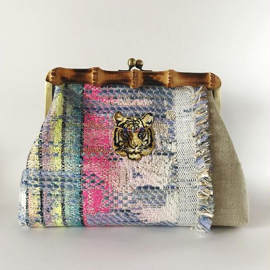 Bamboo Clutch Bag  / 1759
